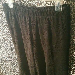 Pants - Elegant unique black pants Pants